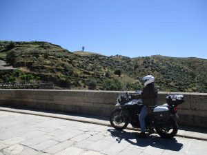 Spanish motorcycle tour