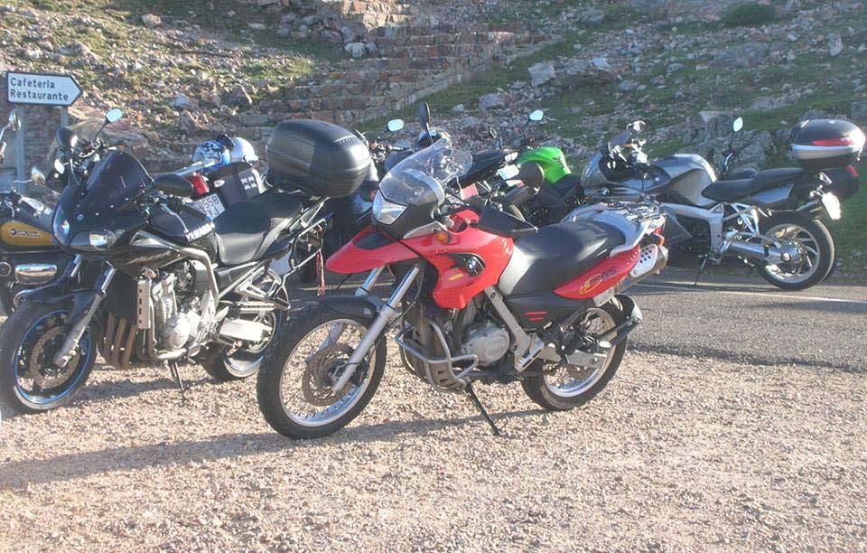 Group bikes Pena Francia
